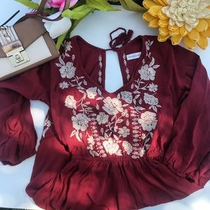 Abercrombie & Fitch Embroidered Dress
